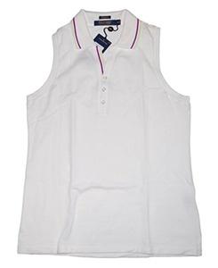Ralph Lauren Polo Golf Women Sleeveless Polo Shirt Medium M
