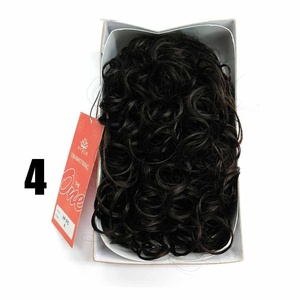 Sepia Drawstring Hair Pony Tail & Hair Extension 4 Brown