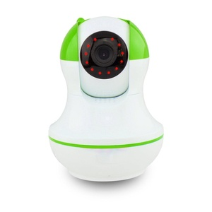 WiFi Wireless IP Security Camera Night Vision Wireless IP Webcam Smart Home Baby Video Monitor Green