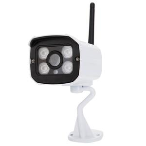 Olymstore 720P 4 IR LEDs Infrared Night Vision HD WiFi Waterproof Outdoor Security IP Camera