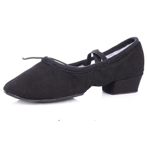 Leather shoes soft bottom teachers/ dancing shoes/ belly dancing shoes/ women's ballet shoes/ shoes-B Foot length=23.8CM(9.4Inch)