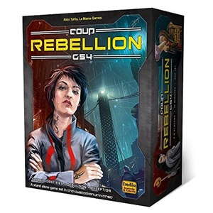 Coup Rebellion G54 Card Game by Indie Boards & Cards