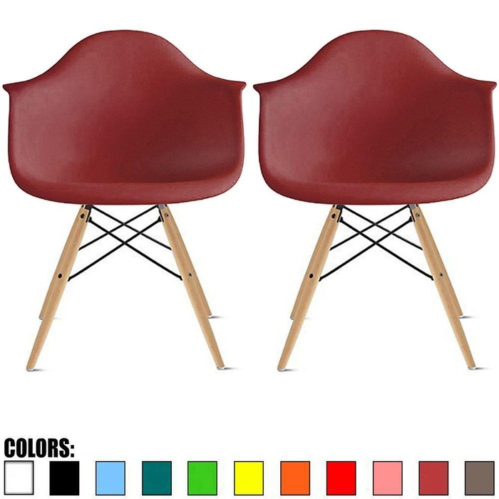 Online Store 2xhome Set Of Two 2 Maroon Eames  : 429a395124e20777d7b171f42fa3cfb62fddcdd3 from www.top1price.com size 700 x 700 jpeg 82kB