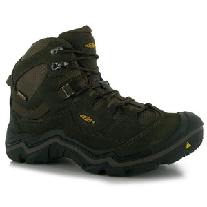Mens Keen Durand Mid Waterproof Walking Boots Shoes Cascade Brown (UK 12 / US 12)