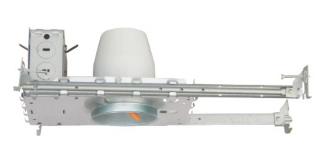 3 INCH NEW CONSTRUCTION LED RECESSED LIGHTING CAN IC RATED AIR TIGHT - 6 PACK