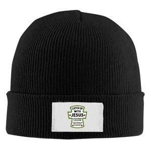 Sports Unisex Catch Up With Jesus Cap Knit Hat