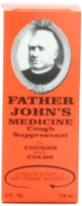 Father John's Cough Medicine by Oakhurst Co.