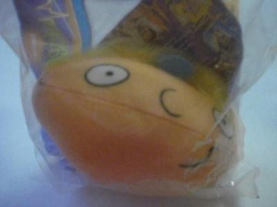 Burger King Kids Meal Nickelodeon Arnold Plush Head 1998 by Bk