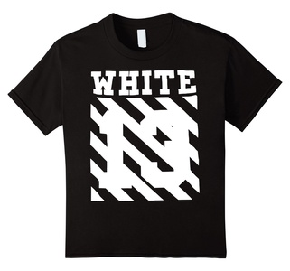 Kids Off white shirt for men and women 10 Black