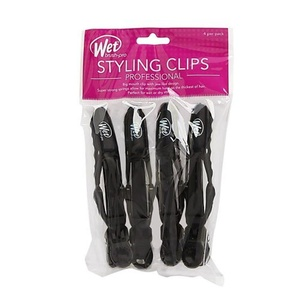 Wet Brush Styling Clip, Blackout - Pack of 4 by The Wet Brush