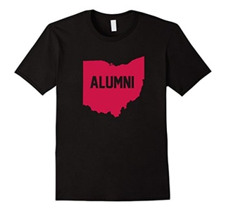 Men's Ohio State Alumni T-Shirt State of Ohio Shirt 3XL Black
