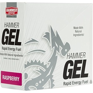 Hammer Nutrition Complex Carbohydrate Energy Gel Raspberry, 24 Pack by Hammer