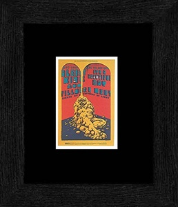 Albert King It's A Beautiful Day - Fillmore West May 69 Framed and Mounted Print - 20x18cm