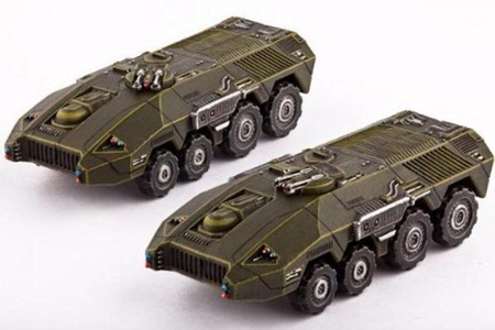Dropzone Commander UCM - Land Vehicles - Bear APC's by Dropzone Commander