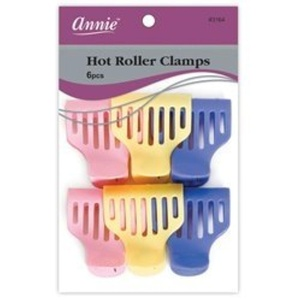 hot roller clamps 6pcs hair clamps by Annie