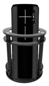 FitSand(TM) Speaker Holder Guard Stand Station for Logitech Ultimate Ears UE BOOM 2 (I and II 2 Gen) Speaker - Black