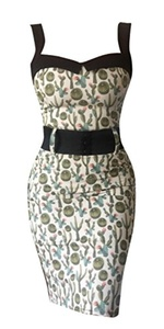 Switchblade Stiletto Women's Darling Dress (X-Large, Cactus)