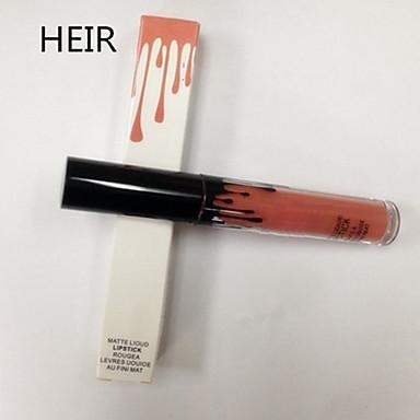 Lip Gloss / Lip Liners Wet / Matte Liquid Coloured gloss / Long Lasting / Natural Brown / Red 1