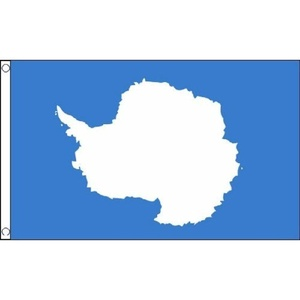 Antarctica Flag 5Ft X 3Ft Antarctic South Pole Banner With 2 Metal Eyelets New by Antarctica