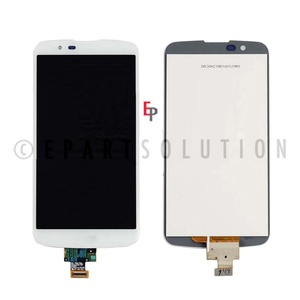 ePartSolution_LG K10 K410 K420 K430 LCD Glass Touch Screen Digitizer Assembly White Replacement Part USA Seller