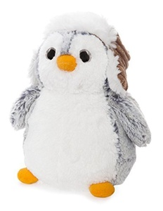 Aurora World 9-Inch Pom Pom Penguin with Hat by Aurora World Ltd Pom Pom Penguin with Hat
