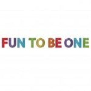 Rainbow 1st Birthday Glitter Party 'Fun To Be One' Letter Banner by Glitter