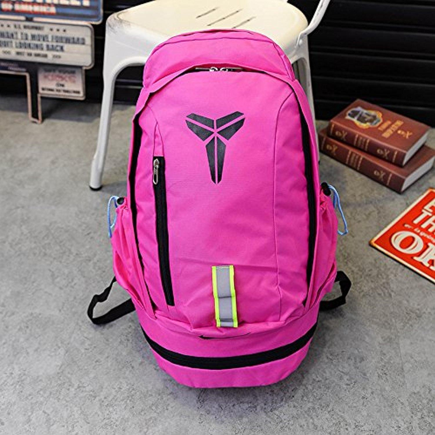 5f3634d6612e Online Store  Nike Kobe Mamba Basketball Backpack Bag Pink