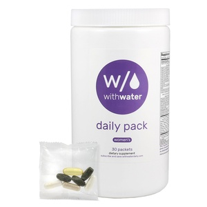 With Water Daily Women's Vitamin & Mineral Packs - 30 Count