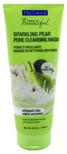 Freeman Facial Mask Sparkling Pear Pore Cleansing 5oz by Freeman