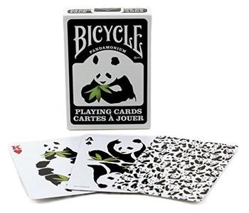 Bicycle PANDAMONIUM Panda Deck of Playing Cards by Bicycle