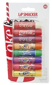 Lip Smacker Coca Cola and Fanta Party Lip Balm Pack of 8 by Lip Smacker