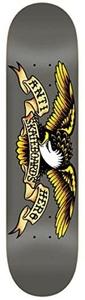 Anti Hero Classic Eagle Skateboard Deck Grey - 8.25 by Anti-Hero