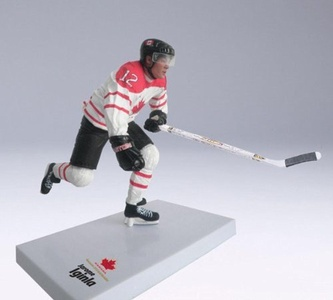 McFarlane Toys NHL Sports Picks Team Canada 2010 Series 2 Action Figure Jarome Iginla (Calgary Flames) White Jersey by SportsPicks: NHL Hockey
