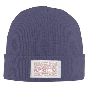 Player Guitar Funny Unisex Style Unisex Slouchy Beanie