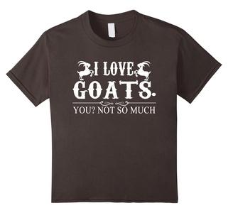 Kids Goat Shirt - I Love Goats Shirts 6 Asphalt