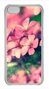 iPhone 5c case, Cute Beautiful Flower iPhone 5c Cover, iPhone 5c Cases, Hard Clear iPhone 5c Covers