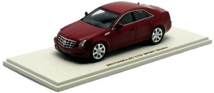 Luxury 1/43 2011 Cadillac CTS Sport Sedan # 100990 by Luxury