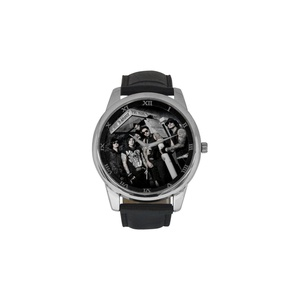 Avenged Sevenfold DBLN259 Men Wrist Watches Leather Strap Large Dial Watch