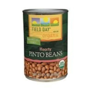 Field Day Beans, Og, Pinto, 15-Ounce (Pack of 12) by Field Day