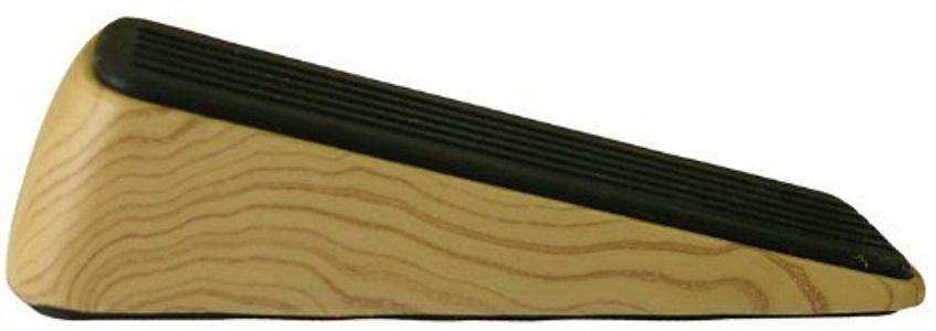 Shepherd Hardware 9333 Designer Door Wedge, Woodgrain, Non-Skid Rubber Base Grip by Shepherd Hardware