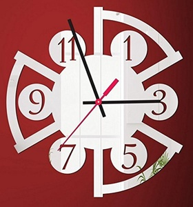 WYMBS Gifts home decor DIY spell wall sticker clock Home decorative mirror decorative wall sticker clock Clock 3D wall sticker DIY spell wall sticker clock