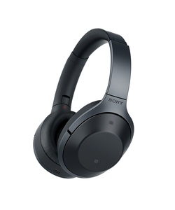 Sony Premium Noise Cancelling, Bluetooth Headphone, Black (MDR1000X/B)