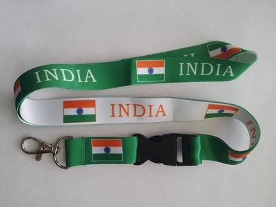 India Flag Reversible Lanyard (10)