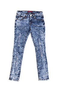 VIP Jean With Soft Fabric Skinny Leg Ripped Pants, Blue