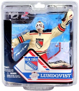 Henrik Lundqvist New York Rangers McFarlane NHL Series 32 Action Figure by McFarlane Toys