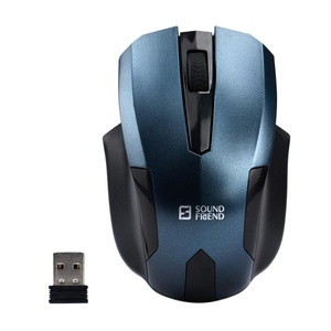 Perman 2.4GHz Mini High Speed Wireless Optical Gaming Mouse Mice + USB Receiver for PC Computer Laptop Blue