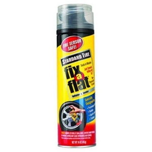 Fix-A-Flat S420-6 Aerosol Tire Inflator with Hose for Standard Tires - 16 oz. by Fix A Flat