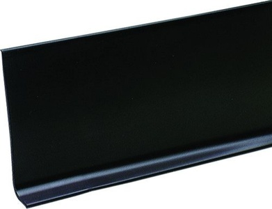 M-d Products 4in. X 120ft. Black Cove Wall Base Vinyl Rolls 75457 - Pack of 120 by M-d Products