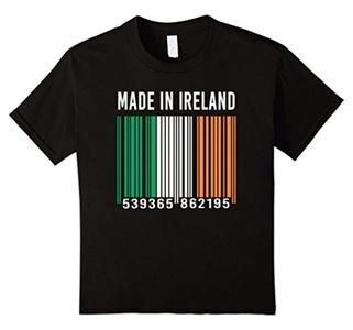 Kids Barcode Ireland T-shirt 8 Black