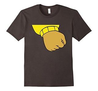 Men's Arthur's Clenched Fist Meme t-shirt Small Asphalt